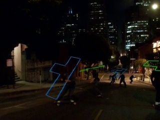 36 Skaters Make Downhill Neon Video Game With Freebords